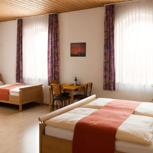 Rottenburg Dreibettzimmer